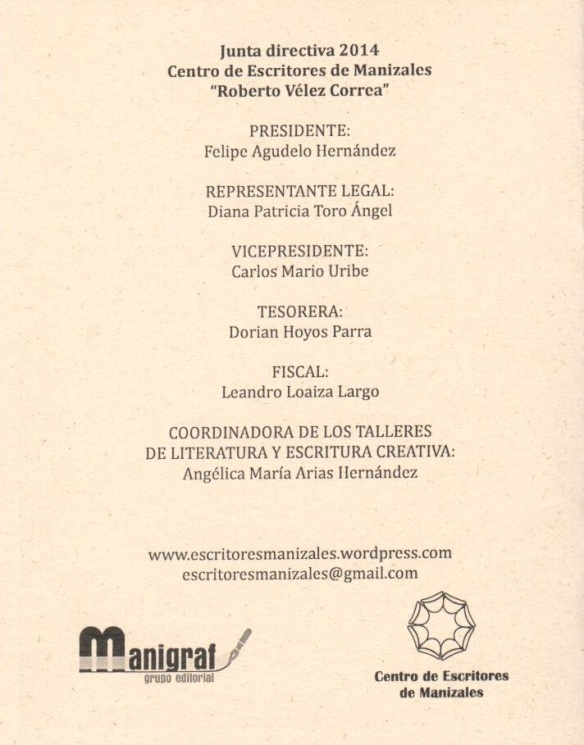 El telón cerrado Hogar CREA Centro de Escritores de Manizales (2)